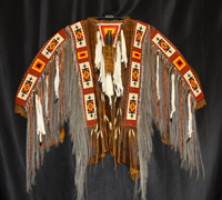 Cries to the Moon - Crow Ceremonial Shirt