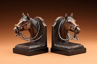 Horsehead Bookends
